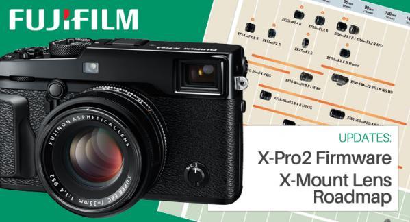 Firmware Update for Fujifilm X-Pro2 & Updated Lens Roadmap