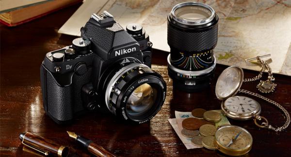 NEW Nikon Df - Full Frame Retro DSLR