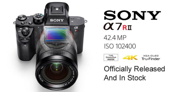 Sony α7R II is released