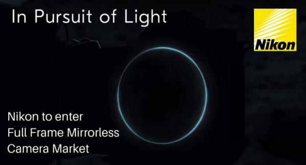 Nikon to enter full frame mirrorless market