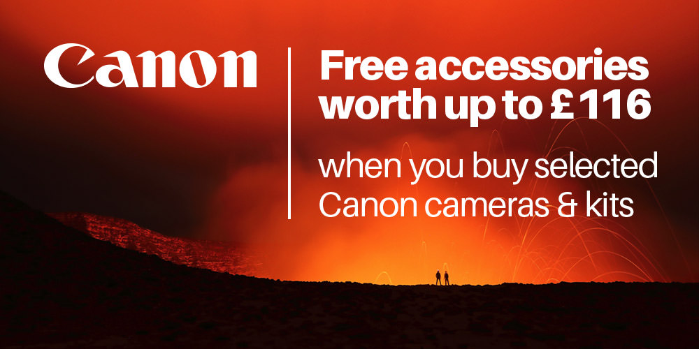 Free Accessory Kit with Canon EOS