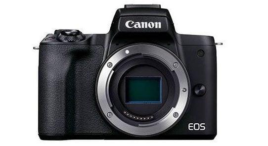 Canon EOS M50 MKII camera