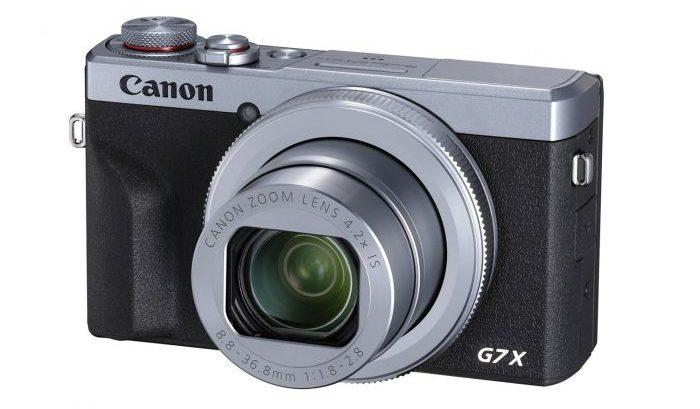 Canon Powershot G7x MKIII camera