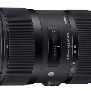 Just Announced - SIGMA 18-35mm F1.8 DC HSM