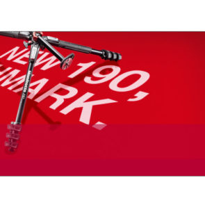 The NEW Manfrotto 190 is Smaller.Taller.Stronger.Smarter