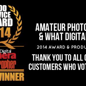 CameraWorld Wins Gold Service Award (Updated)