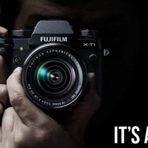 Fujifilm X-T1 has landed & it's more than just B-E-A-Utiful