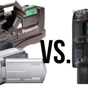 Consumer Camcorders vs Video & DSLR - Long Live Movie