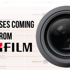 Fujifilm Updates Lens Roadmap
