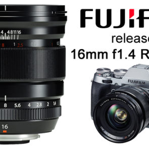 Fujifilm adds 16mm f1.4 XF WR to range