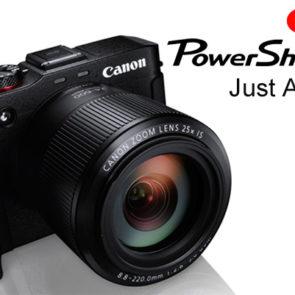 Canon unveil the Powershot G3X - a true hybrid