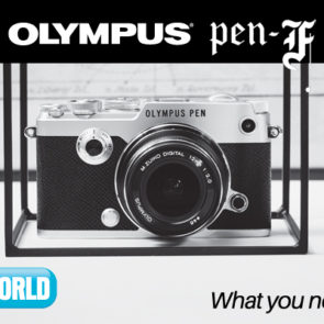 The OLYMPUS PEN-F - The Mirrorless Masterpiece
