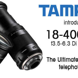 Tamron introduce ULTRA-TELEPHOTO All-In-One Lens
