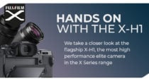 Fujifilm X-H1 First Impressions