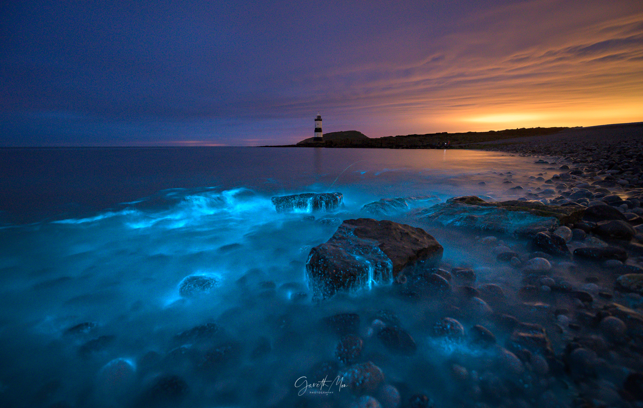 Electric Seas by Gareth Mon Photography